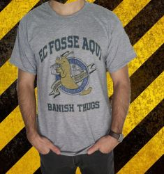 "Camiseta ""Banish Thugs"""